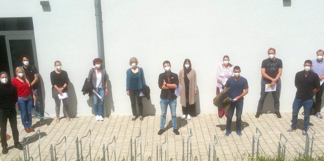 Kooperation von Realschule und FOSBOS – Gruppenimpfung der Lehrkräfte