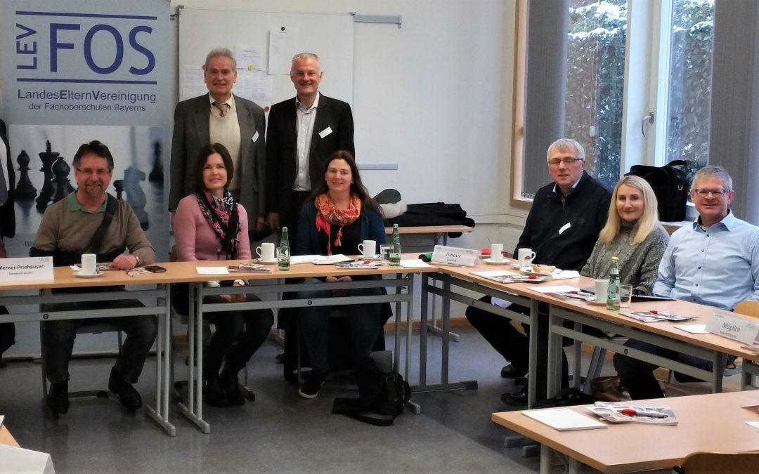 Regionalversammlung der Landeselternvereinigung tagte an der FOSBOS Weißenburg