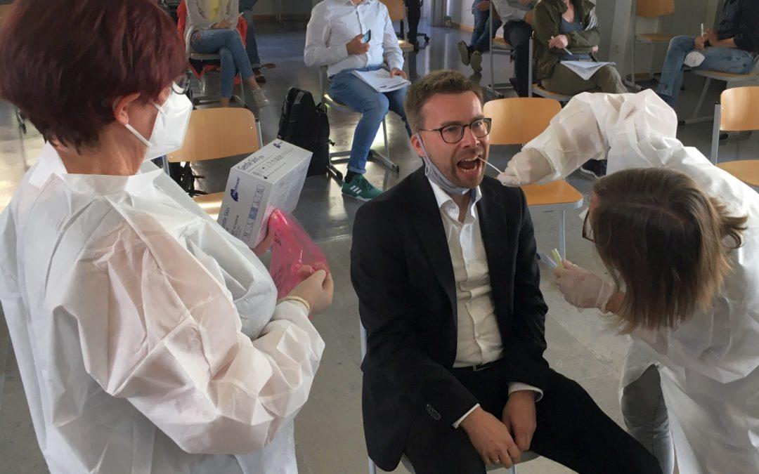 Reihentestung der Lehrkräfte an der FOSBOS Weißenburg